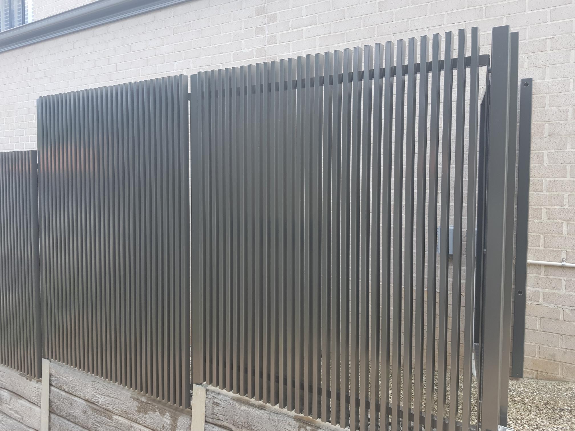 Aluminium Fencing 8 - www.thefabcompany.com.au
