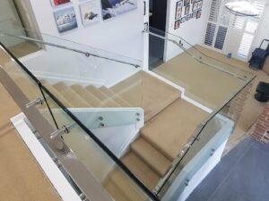 Internal Glass Balustrade