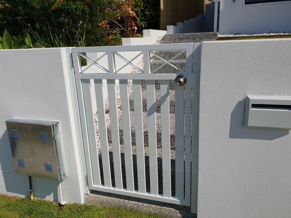 Aluminium Entry Gate Custom Detail_www.thefabcompany.com.au