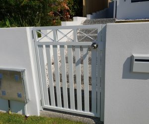 Aluminium Entry Gate Custom Detail_www.thefabcompany.com.au